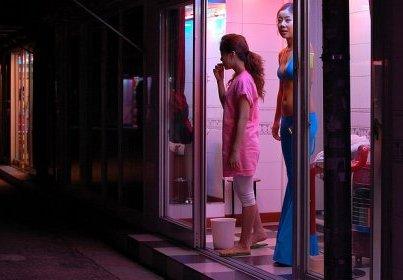 prostitute waiting